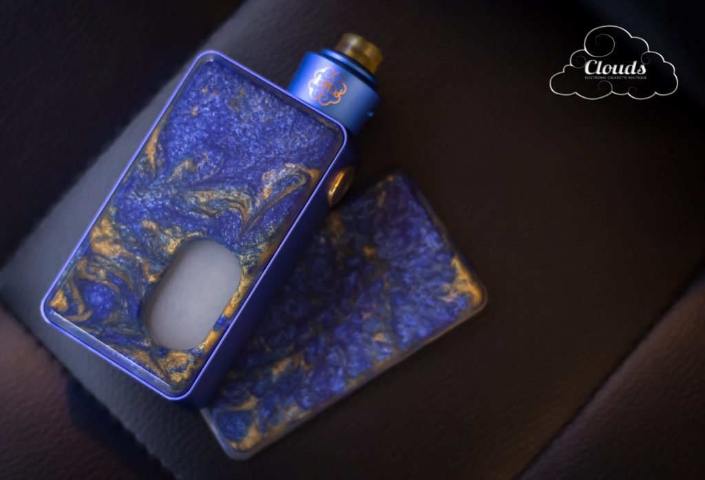 dotMod - dotSquonk mechanical squonk mod - nollidesigns resin panels